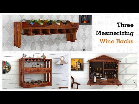 Wine Rack - Shop online different Wine Racks at WoodenStreet Starting From Rs. 4399