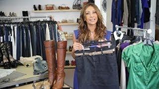 Ways To Wear A Jean Skirt : Trendy Fashion Tips