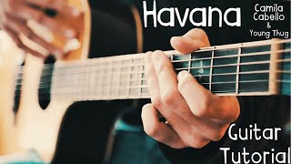 Havana Camila Cabello Guitar Lesson for Beginners // Havana Guitar Tutorial