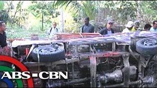 UKG: Three dead as multicab slides off slope