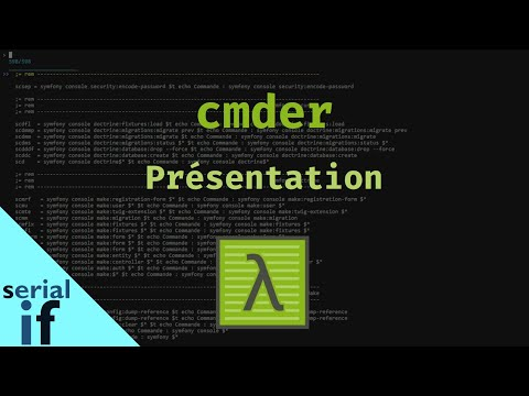 Cmder - 01 : Présentation