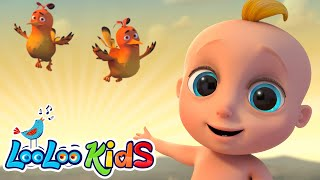 👶In The Morning🌅- EDUCATIONAL Morning Songs for Children   LooLoo Kids