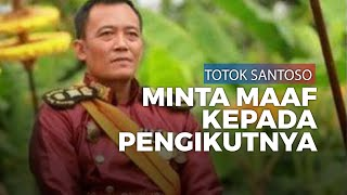 Keraton Agung Sejagat yang Didirikannya Diakui Fiktif, Totok Santoso Minta Maaf