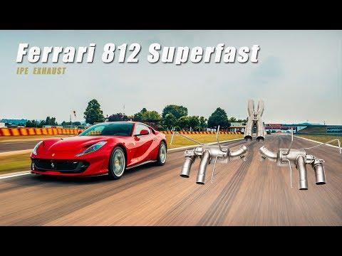 The iPE Exhaust for Ferrari 812 Superfast