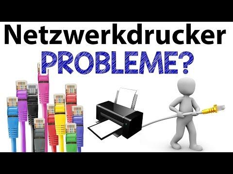 Netzwerkdrucker druckt nicht weil offline? (Epson / Canon / HP / Brother)