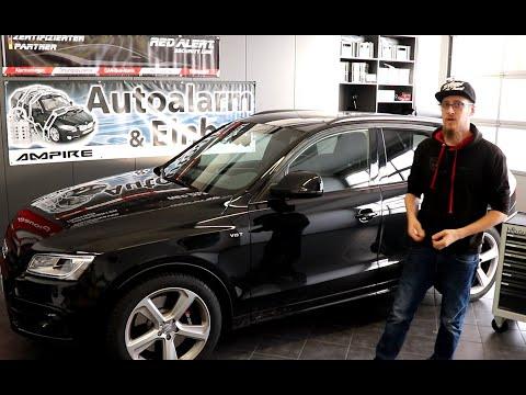 Audi SQ5 8R Wegfahrsperre nachrüsten - Ampire WFS400 Einbau - Diebstahlschutz für Auto