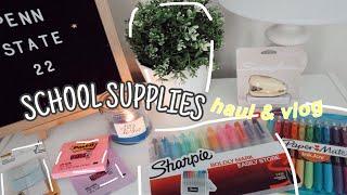 School Supplies Shopping & Haul 2020 **college Essentials