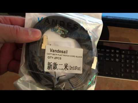 Is a Vandesail CAT7 B013W0ARNY  Ethernet cable faster the a Cat 6 Ethernet cable???