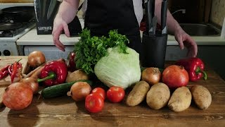 Как порезать овощи не потеряв пальцы?