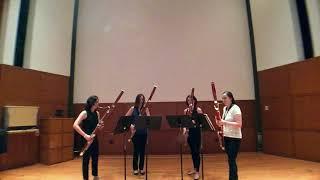 Hallelujah - The Breaking Winds Bassoon Quartet