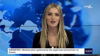 RTK3 Lajmet e orës 14:00 25.02.2020