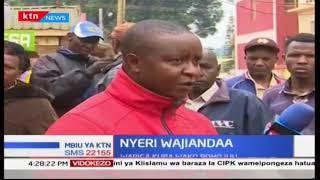 Wakaazi wa kaunti ya Nyeri wajiandaa vilivyo kwa uchaguzi mkuu unaojiri tarehe Oktoba 17