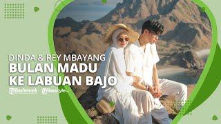 Dinda Hauw dan Rey Mbayang Pergi Bulan Madu ke Labuan Bajo