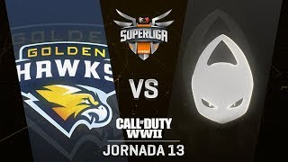 GOLDEN HAWKS VS X6TENCE | Superliga Orange COD | (Jornada 13)