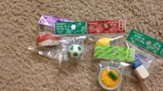 Huge Iwako eraser collection