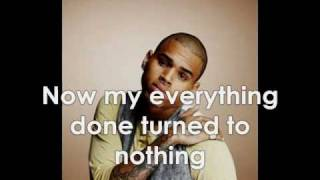 Chris Brown - Nothin' With Lyrics