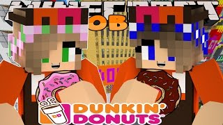 Minecraft Jobs : Little Kelly Adventures - WORKING AT DUNKIN' DONUTS!