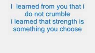 Miley Cyrus Bill Ray - I learned From you with lyrics
