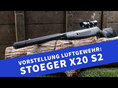 4komma5: Schalldämpfer-Luftgewehr von Stoeger: Das X20 S2 in 4,5mm im Video vorgestellt