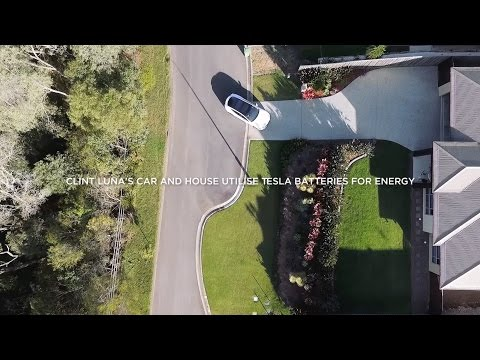 This Aussie Tesla Owner's Car And House Are Powered By The Queensland Sun