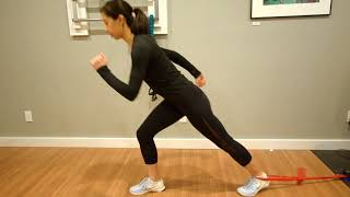 Hip Flexor Strain Running Rehab - Knee Highs