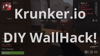 Create your own Krunker.io Wallhack by changing a single number!