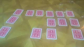 The card game ritual