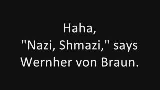 Tom Lehrer: Wernher Von Braun (concert live) (1965)