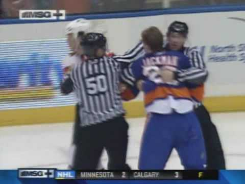 Tim Jackman vs. Arron Asham