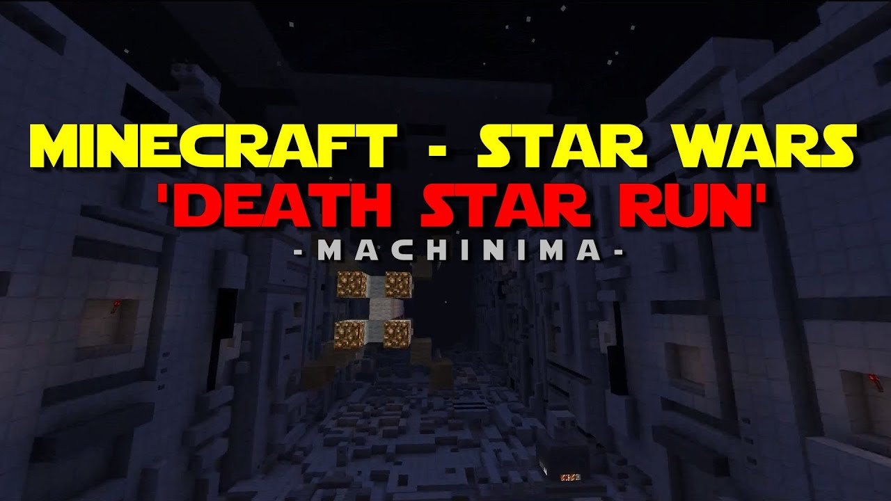 Star Wars' Famous Trench Run, Recreated As A Minecraft Movie
