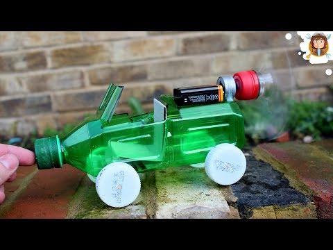 Tự chế xe hơi đồ chơi cho con bạn siêu đẹp, siêu đơn giản