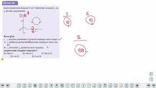 Eğitim Vadisi AYT Fizik 16.Föy Manyetizma ve Elektromanyetik İndüklenme Konu Anlatım Videoları