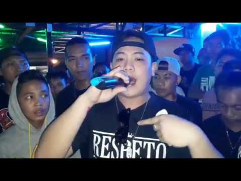 Laglagan Rap Battle League - One Lie Ace Vs Lil Weng ( BEERANDA BAR MUSIC )