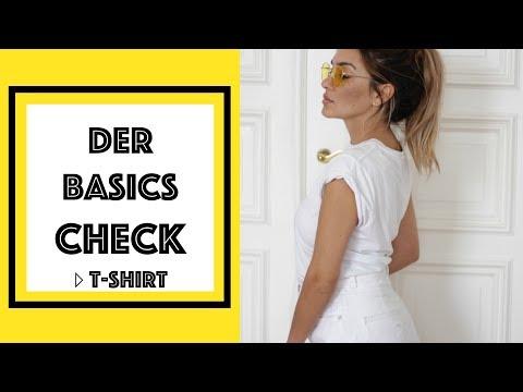 DER BASICS CHECK | DAS PERFEKTE T-SHIRT | madametamtam