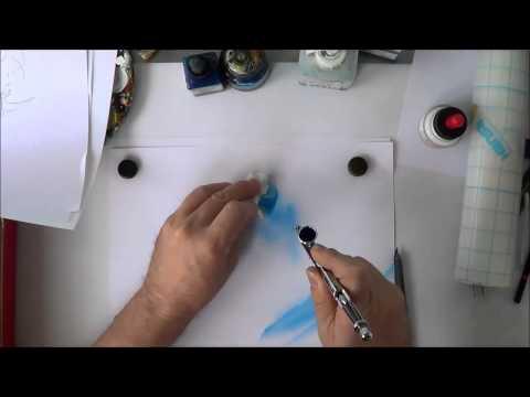 Airbrush Schablonen Erklärvideo