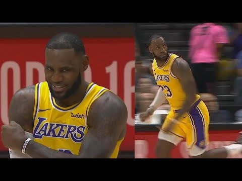 LeBron James Shocks Lakers Crowd in Debut with Rajon Rondo, Lance Stephenson, and Javale Mcgee!
