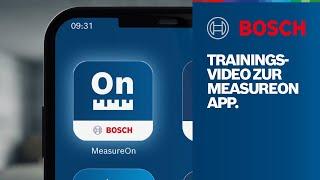 Die Bosch MeasureOn App: Alle Informationen in einer Hand