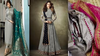 BEST COLOUR CONTRAST OF GREY|| ELEGANT IDAES OF COLOUR CONTRAST WITH GREY