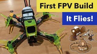 Custom FPV quad - Hey It Flies