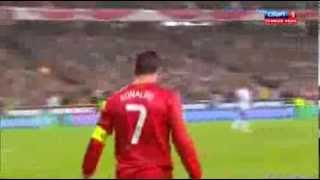 Лучший гол от Криштиану Рональдо!
