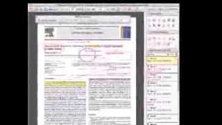 How to annotate PDF documents with Adobe Reader