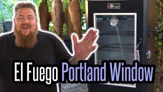 Exklusive Erstvorstellung: El Fuego Portland Window - Vertikal-Smoker Review - Grillen für jedermann