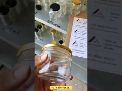 300ml Clear Glass Jar