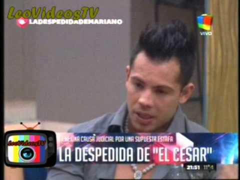 Mariano charla con Jorge para decidir si se queda o se va GH 2015 #GH2015 #GranHermano