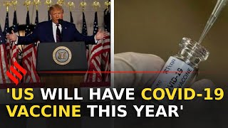 US will have coronavirus vaccine this year: Donald Trump - Download this Video in MP3, M4A, WEBM, MP4, 3GP