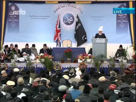 Ansprache des Kalifen (aba) zur Jährlichen Versammlung in Qadian