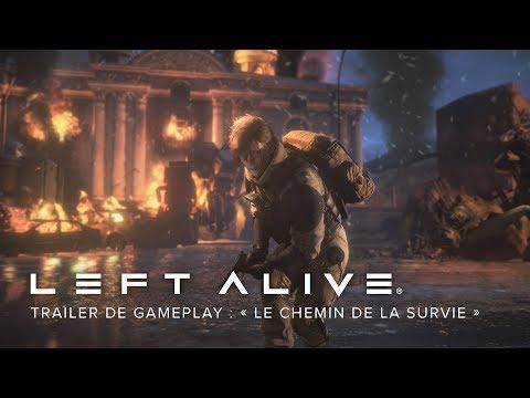Trailer de Gameplay « Le chemin de la survie » de Left Alive