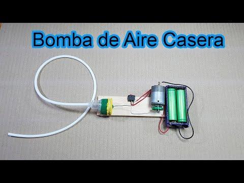 Cómo Hacer Un Mini Compresor De Aire | Bomba de Aire Casera | Sagaz Perenne