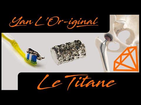 Le Titane : Histoire et utilité (avec un peu de dentifrice)
