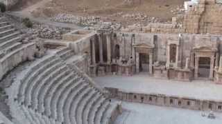 preview picture of video 'Theatre in Jerash'